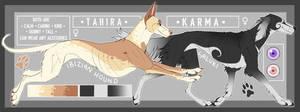 Tahira and Karma - Reference Sheet