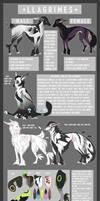 Llagrimes - Species INFO SHEET