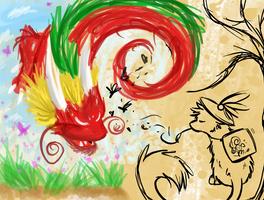 Paint to life by Kazzuku
