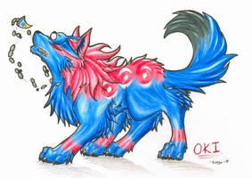 OKI -Okami- by Kazzuku