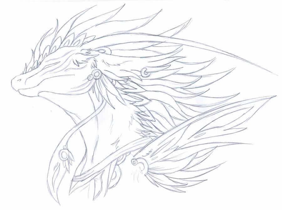 Warrior sketch by Kazzuku