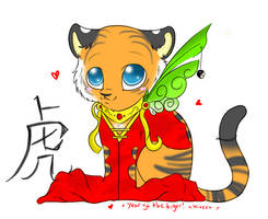 Year of the Tiger by Kazzuku