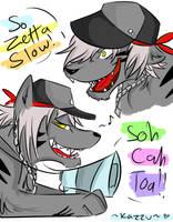 Sho doodles by Kazzuku