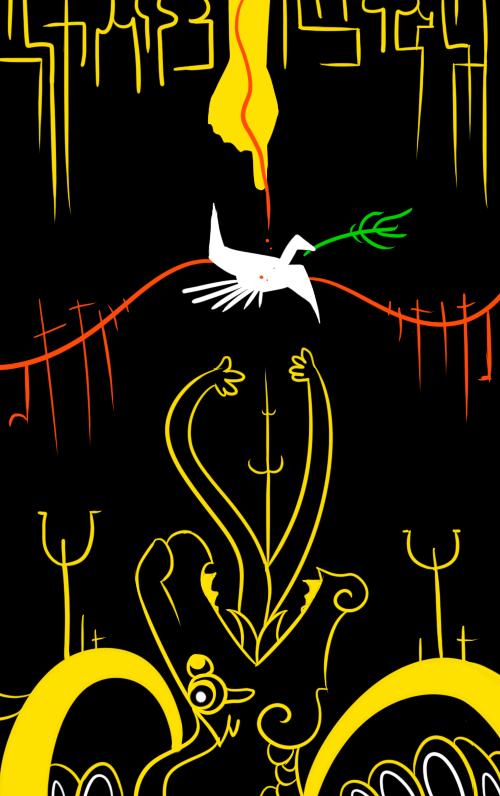 peace by Kazzuku