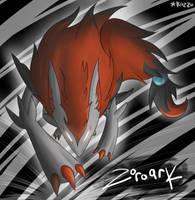 Zoroark Gen V by Kazzuku