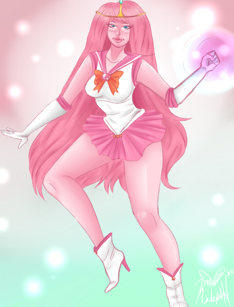 Naked Princess Bubble Gum