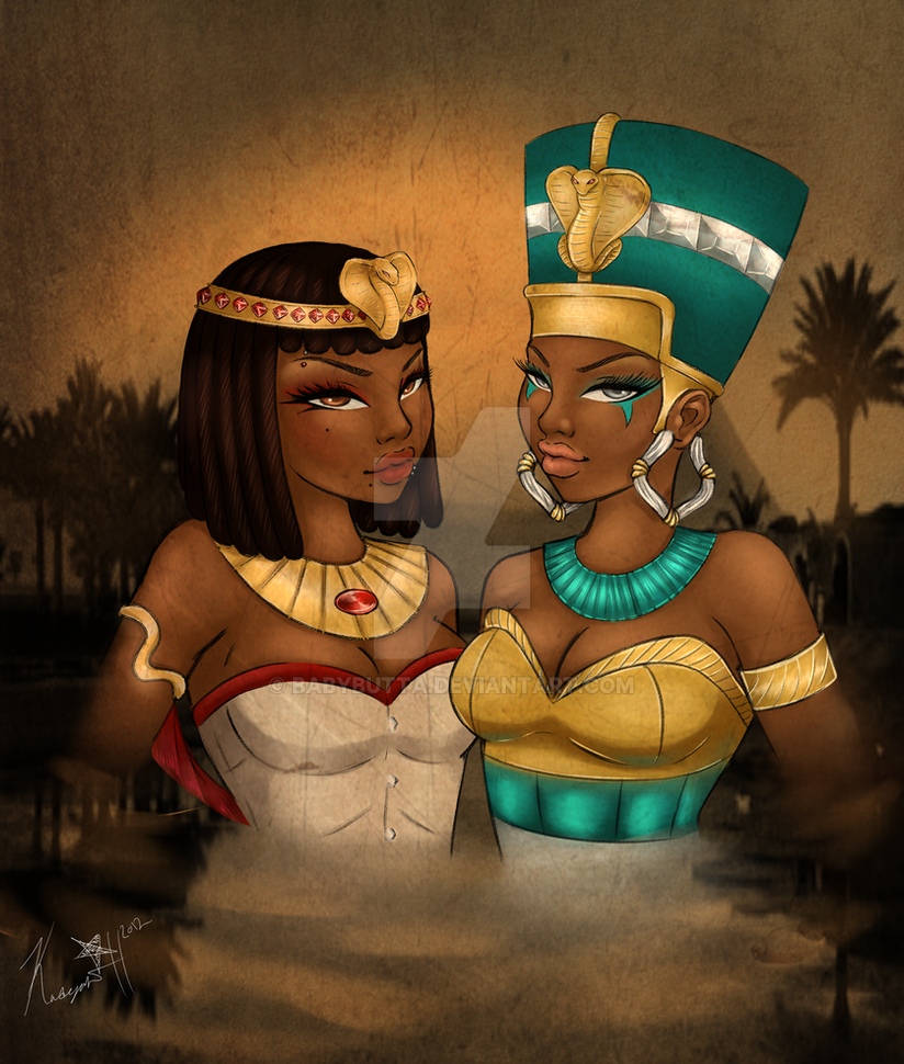 Queens of the Nile. by BabyButta on DeviantArt