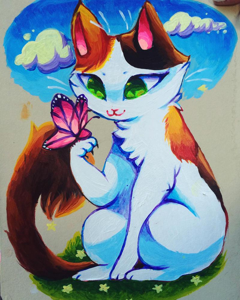 kitty by Kazia-Kat