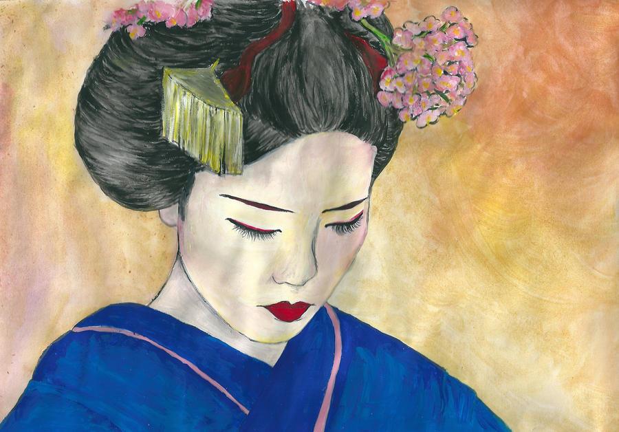 Geisha by AnnaBitti