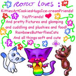 Roro loves