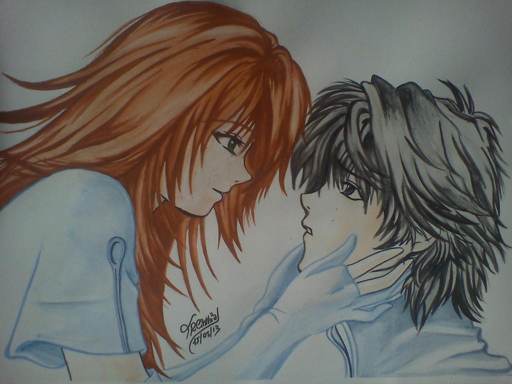 Pareja Anime by TRCinthia on DeviantArt