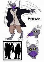 Undertale OC: Watson by BrassWarrior