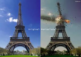 Eiffel Tower by VodkaEeHalls