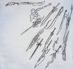 Weapon sketch 3