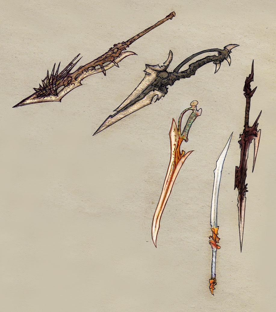 Weaponry sketch6 - colored by Random223