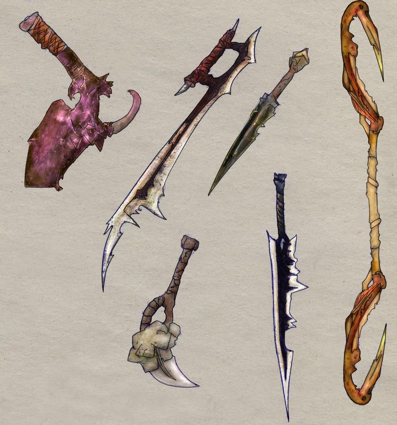 Weaponry 7 by Random223
