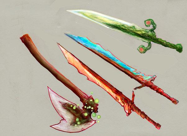 Weaponry sketch 8 by Random223