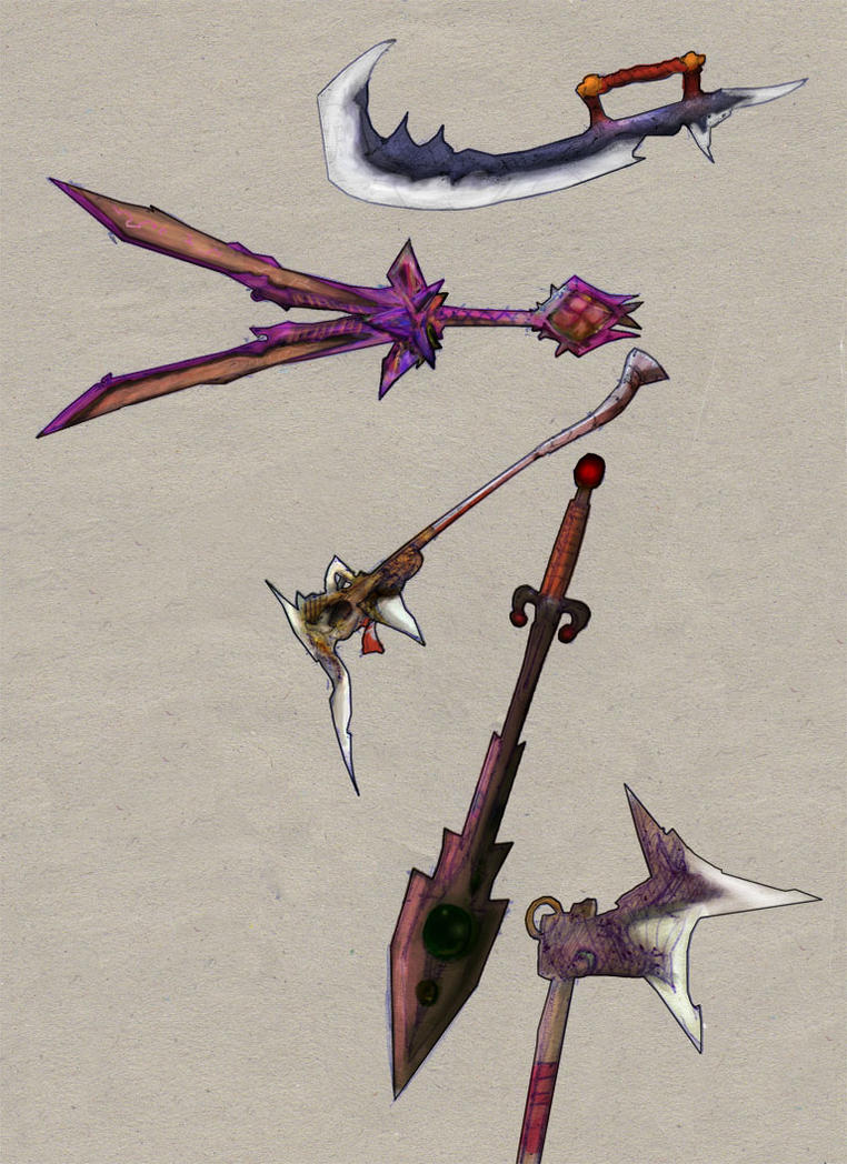 Weaponry 10 by Random223