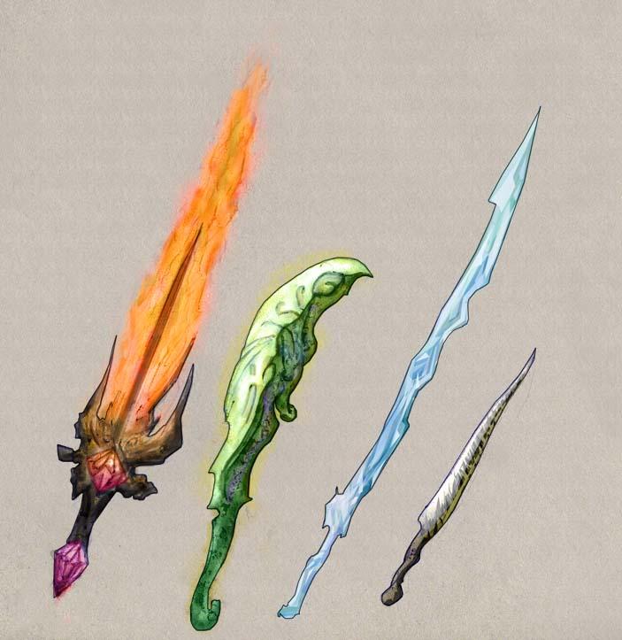 Weaponry 45 by Random223