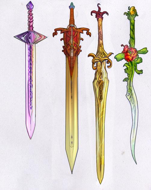 Weaponry set 69 - swords by Random223