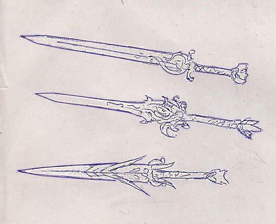 Weaponry sketch 94 by random223