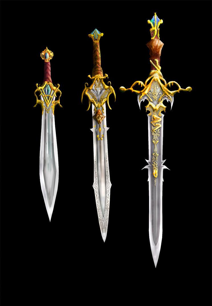 Weaponry 105 - 3 blades by Random223