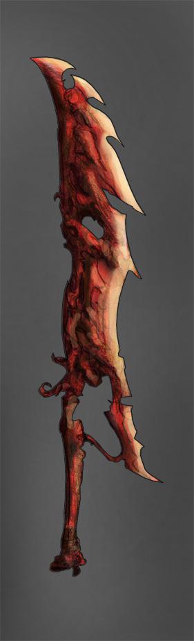 Eeaponry 120 - Demon longblade by Random223
