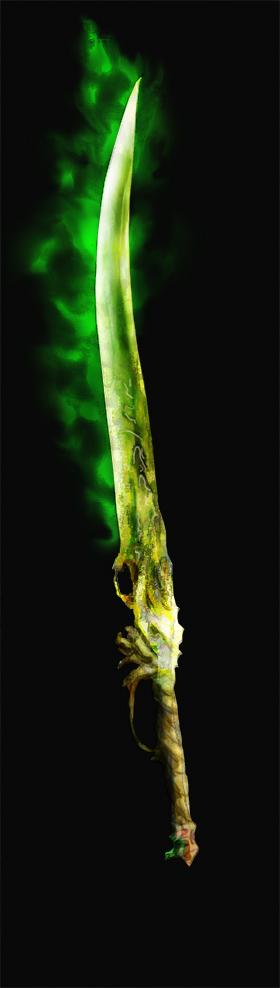 Weaponry 123 greenblade2 by Random223
