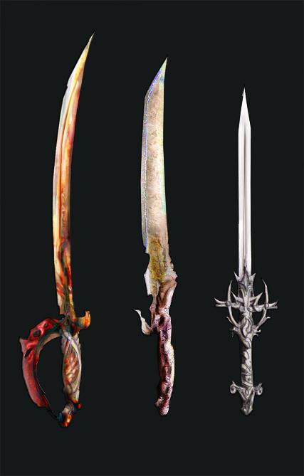 Weaponry 125 - 3 blades by Random223