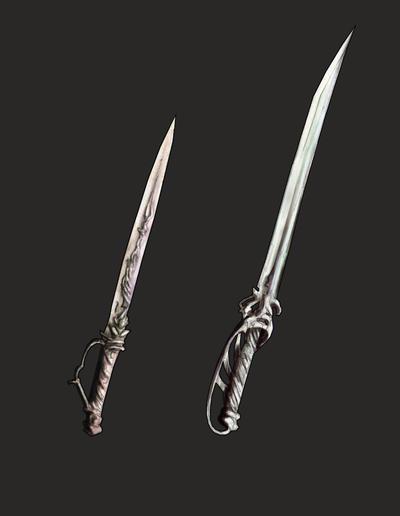 Weaponry 131 - blades by Random223