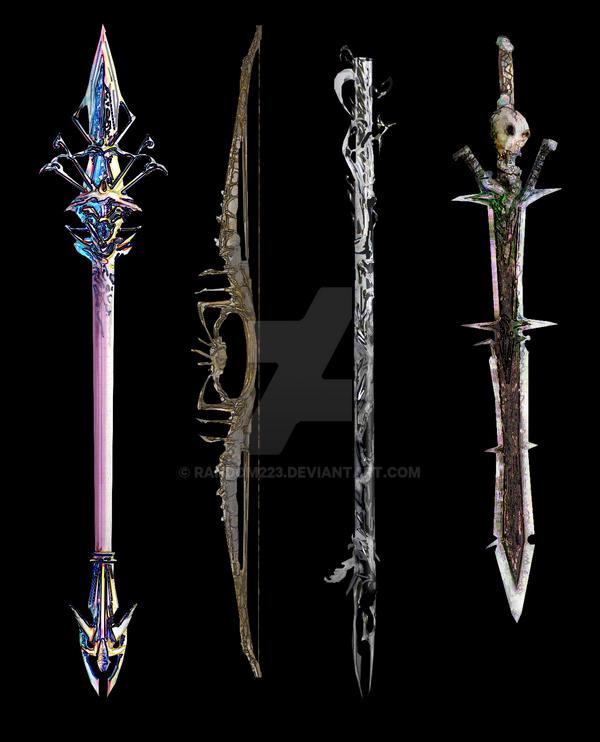 Weaponry 180 by Random223