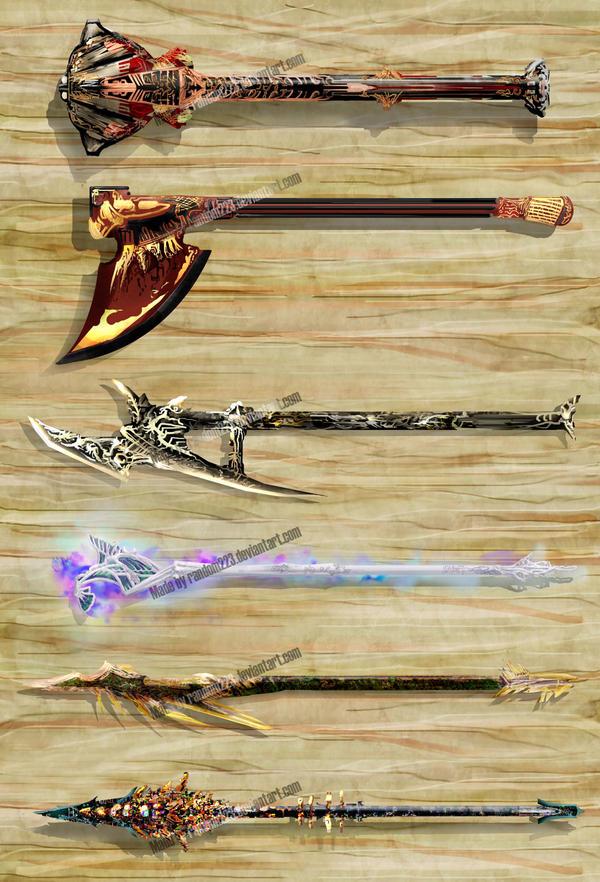 Weaponry 202 by Random223