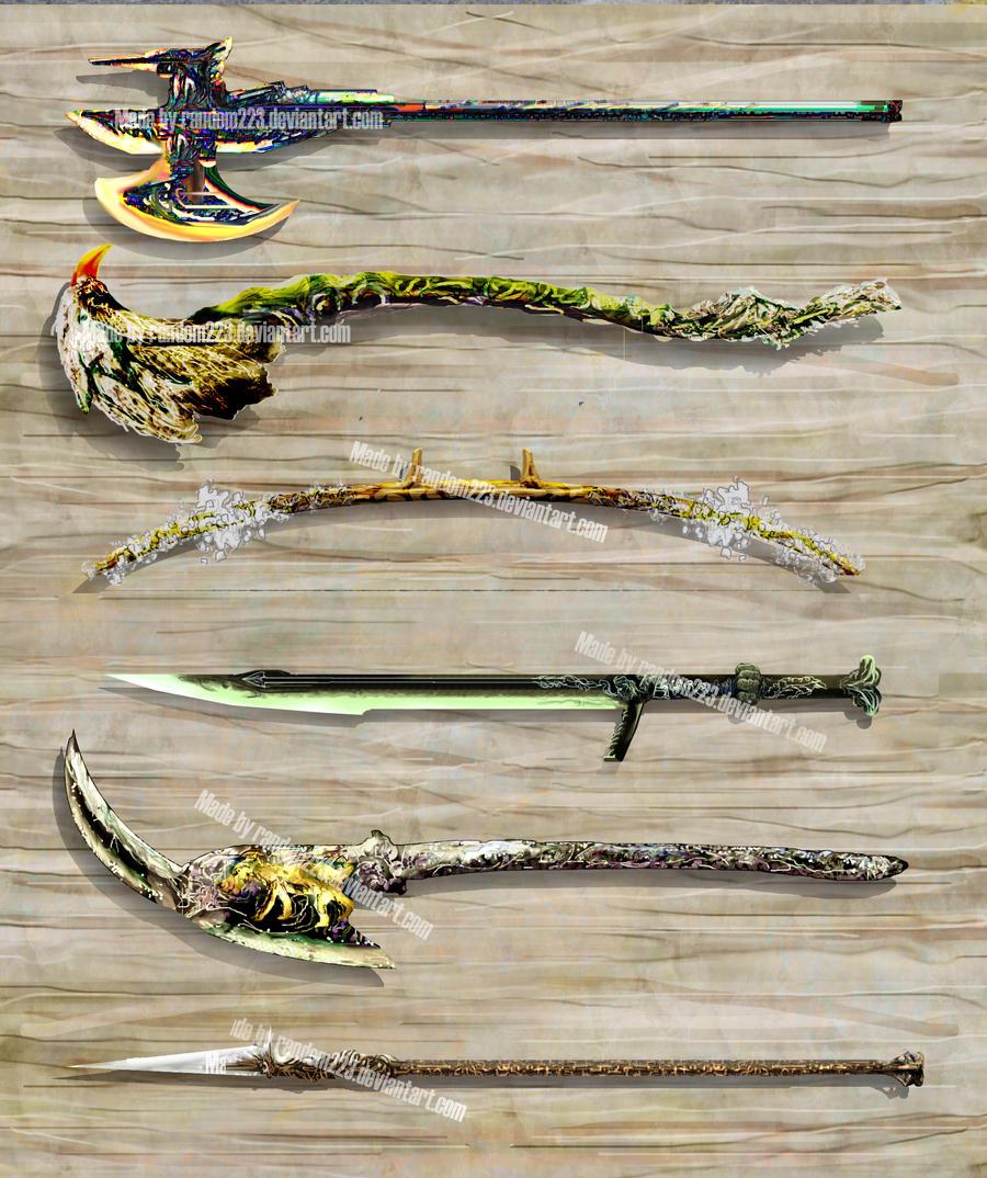 Weaponry 203 by random223