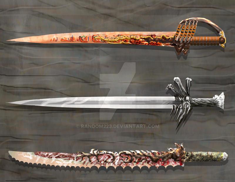 Weaponry 207 by random223