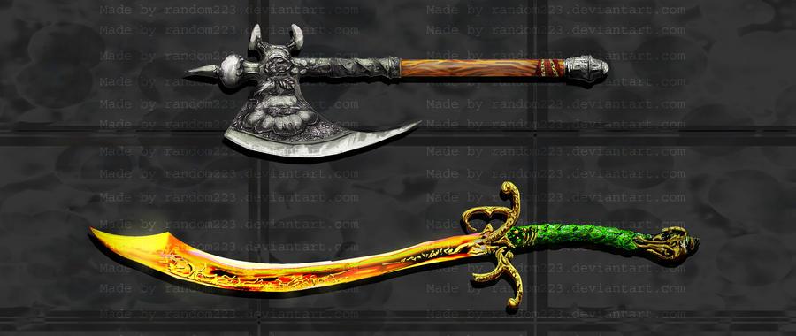 Weaponry 220 by random223