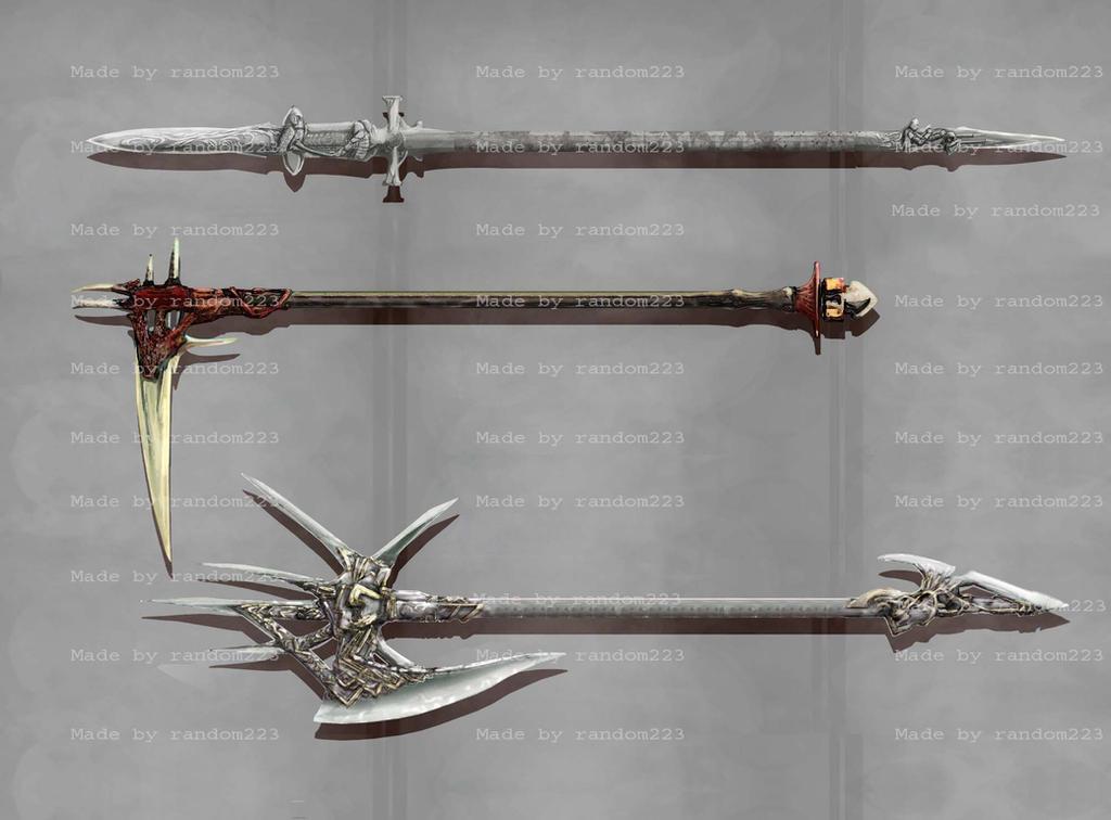Weaponry 232 by Random223