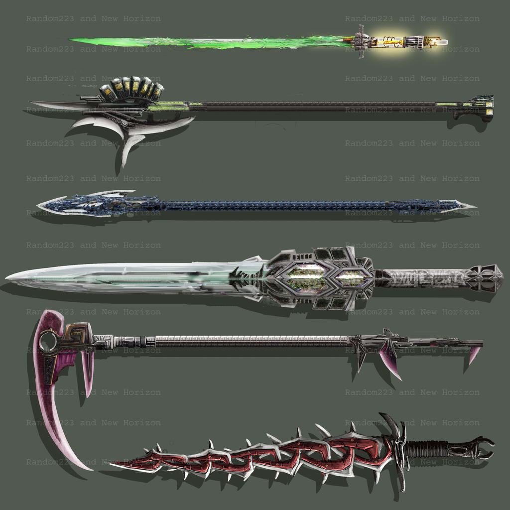 Weaponry 240 by random223