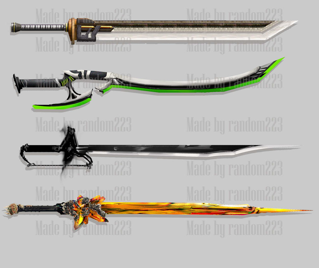 Weaponry 241 by random223