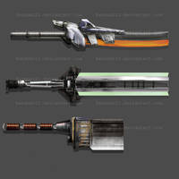 Weaponry 246 only hilts by Random223