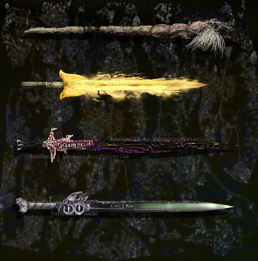 Weaponry 249 by random223