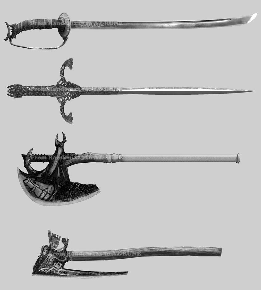 Weaponry 310 by random223
