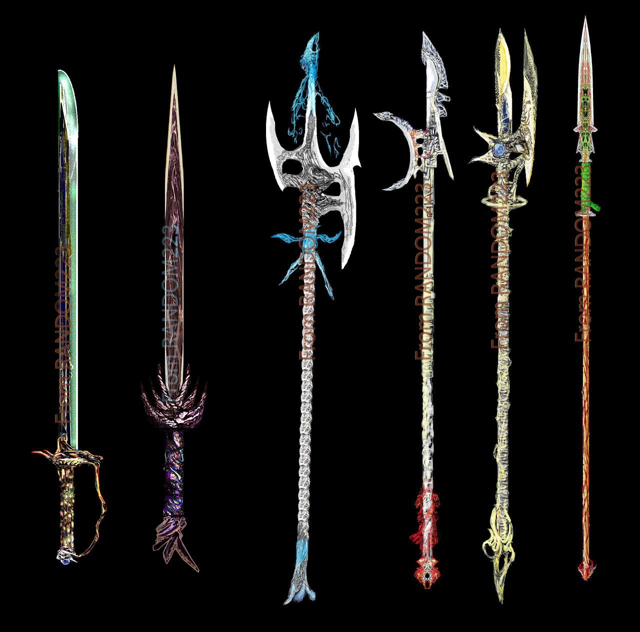 Weaponry 354 by Random223