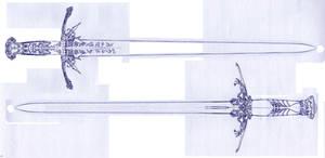 Weaponry Sketch 375 by Random223