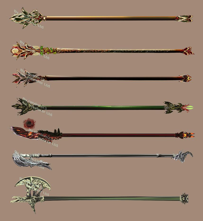 Weaponry 377 by random223