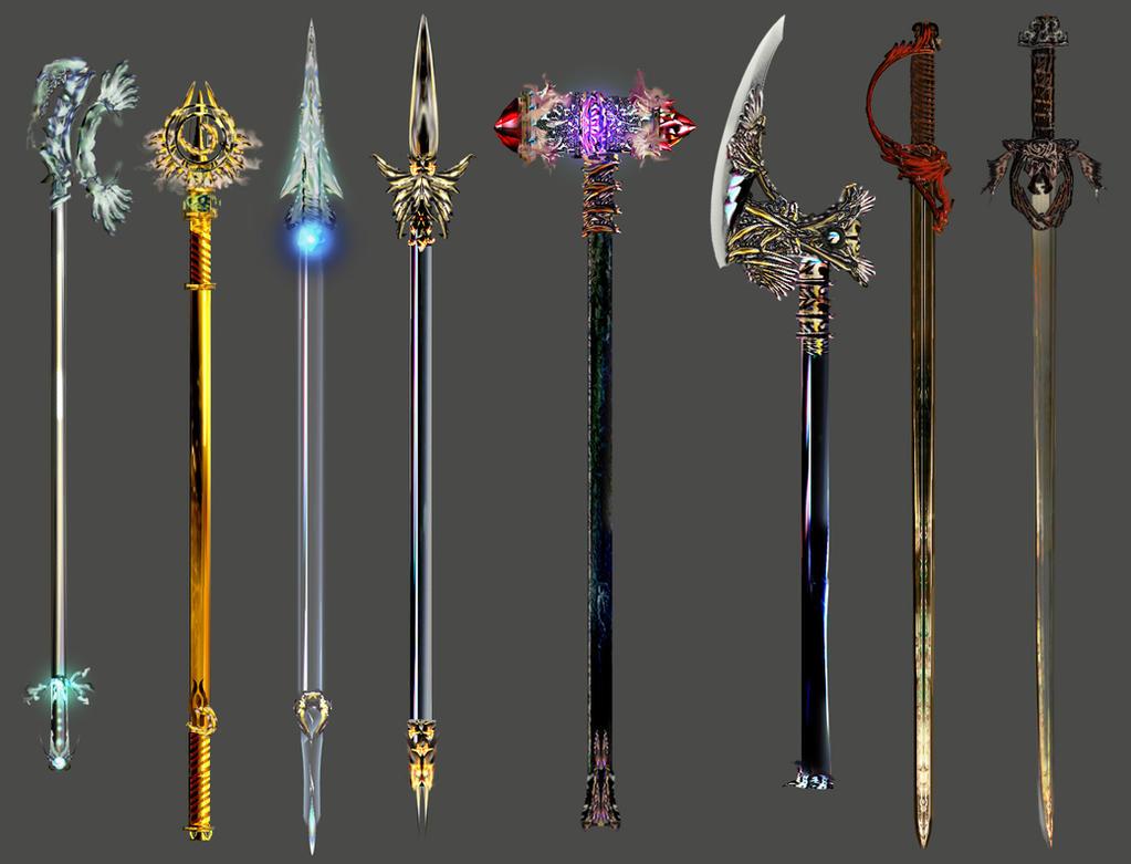 Weaponry 412 by Random223