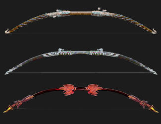 Weaponry 644B bows by Random223