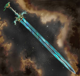 Weaponry 653 space sword by Random223