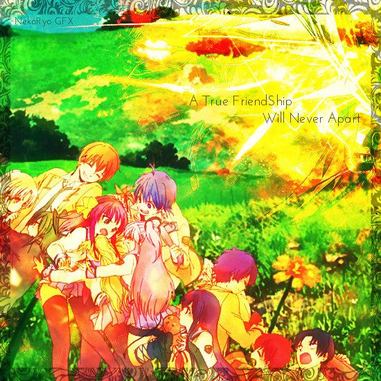 Angel Beats [FriendShip Edition] Wallpaper by NekoRyoCatSan