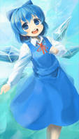 cirno is simple-kawaii