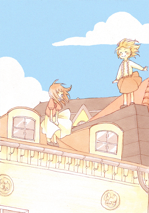 rooftop by lisaharald